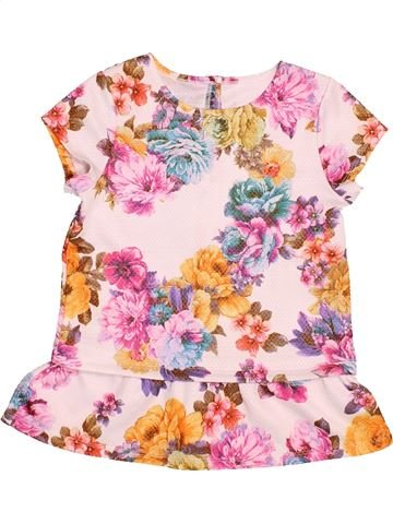 Blusa de manga corta niña NUTMEG rosa 9 años verano #1537180_1
