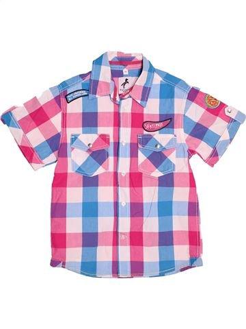 Chemise manches courtes garçon C&A rose 6 ans été #1537381_1