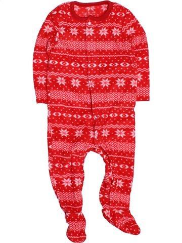 Robe de chambre unisexe F&F rouge 6 mois hiver #1537491_1