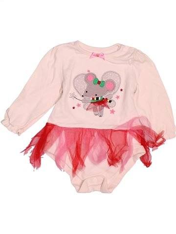 Camiseta de manga larga niña NUTMEG rosa 12 meses invierno #1537543_1