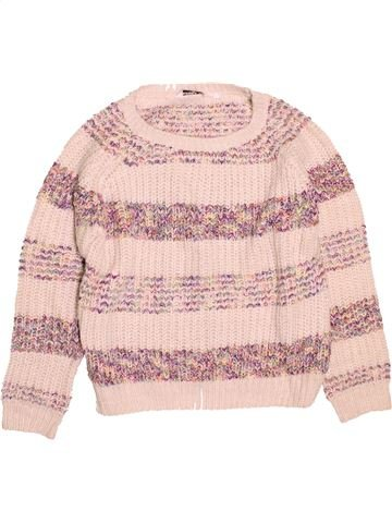 Pull fille NEW LOOK rose 11 ans hiver #1537816_1
