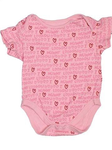 T-shirt manches courtes fille MINI CLUB rose 9 mois été #1538186_1