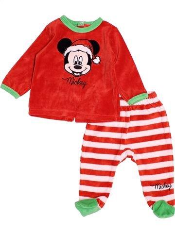 Pijama de 2 piezas niño DISNEY blanco 3 meses invierno #1538538_1