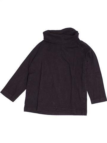 T-shirt col roulé garçon TAPE À L'OEIL noir 3 ans hiver #1538781_1