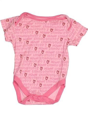 T-shirt manches courtes fille MINI CLUB rose 9 mois été #1538859_1