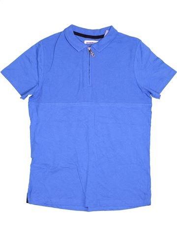 Polo manches courtes garçon TU bleu 14 ans été #1538916_1