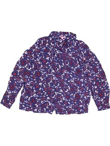 Blouse manches longues fille PIAZA ITALIA violet 9 ans hiver #1538996_1