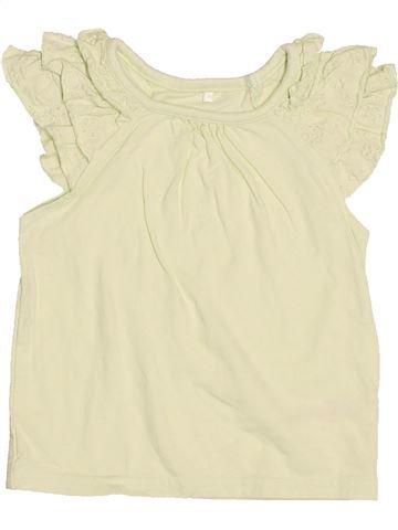 T-shirt sans manches fille GEORGE beige 12 mois été #1539156_1