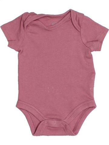 Camiseta de manga corta niña MAMAS & PAPAS rosa 0 meses verano #1539176_1