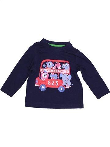 T-shirt manches longues garçon PEP&CO rose 12 mois hiver #1539435_1