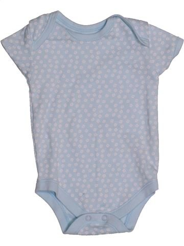Camiseta de manga corta niña MATALAN gris 6 meses verano #1539530_1