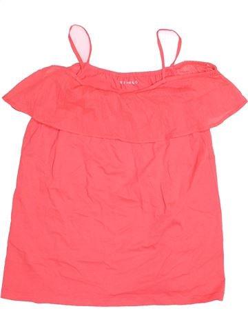 Camiseta sin mangas niña NUTMEG rosa 12 años verano #1539551_1