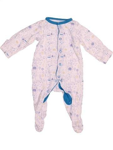 Pyjama 1 pièce garçon MINI CLUB rose 3 mois été #1539635_1