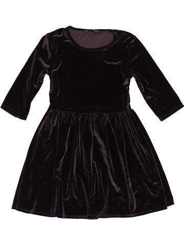 Vestido niña GEORGE negro 6 años invierno #1539956_1