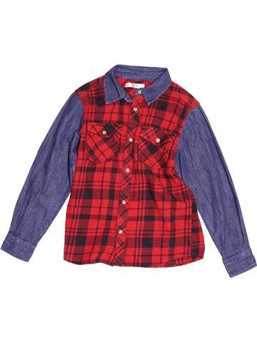 Camisa de manga larga niño M&CO violeta 8 años invierno #1540065_1