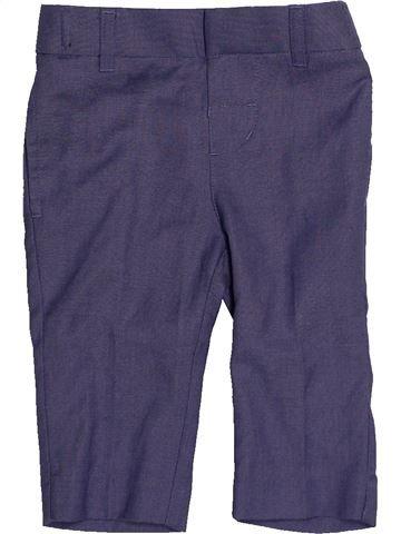 Pantalon garçon MONSOON bleu 6 mois été #1540615_1