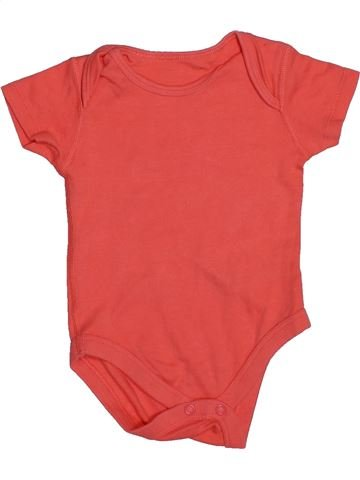 T-shirt manches courtes fille BHS rouge 6 mois été #1540625_1