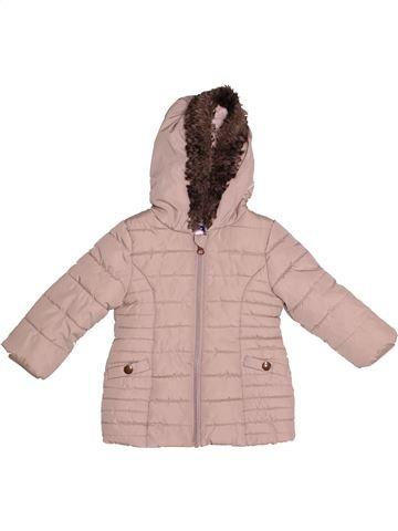 Doudoune fille F&F gris 12 mois hiver #1540686_1