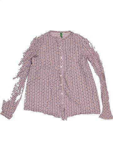 Blusa de manga larga niña BENETTON rosa 11 años invierno #1540697_1