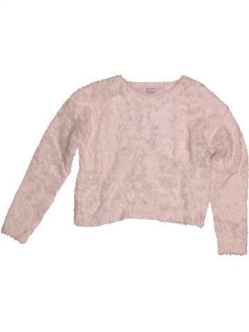 Pull fille RIVER ISLAND rose 12 ans hiver #1540703_1