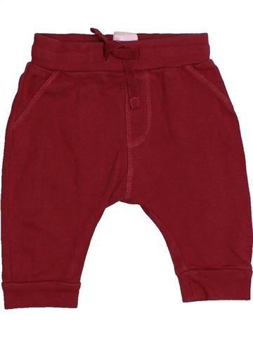 Pantalón niño MARKS & SPENCER rojo 3 meses invierno #1540788_1