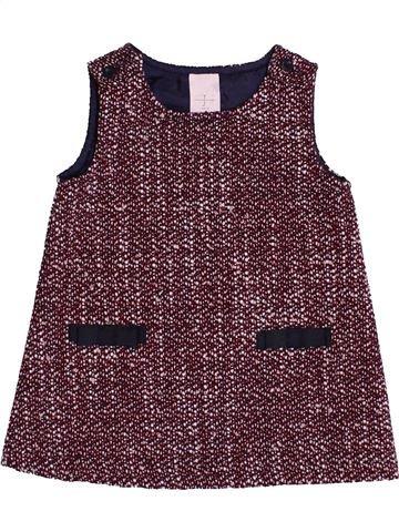 Robe fille JASPER CONRAN violet 6 mois hiver #1540801_1