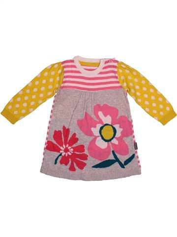 Vestido niña NUTMEG rosa 12 meses invierno #1540819_1