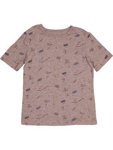 T-shirt manches courtes fille LA REDOUTE rose 10 ans été #1541007_1