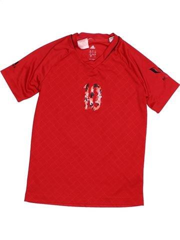 Camiseta deportivas niño ADIDAS rojo 10 años verano #1541053_1