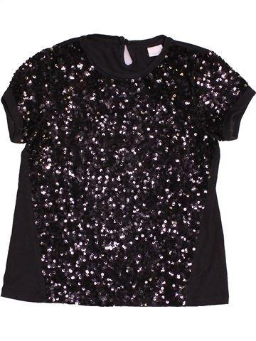 T-shirt manches courtes fille F&F marron 11 ans hiver #1541056_1