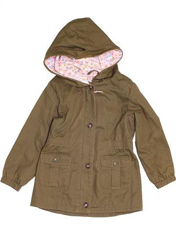 Abrigo niña MARKS & SPENCER marrón 7 años invierno #1541105_1