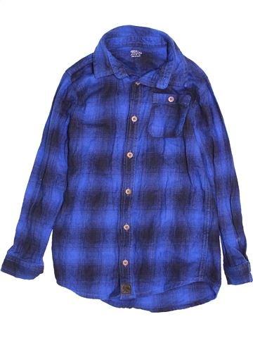 Camisa de manga larga niño F&F azul 7 años invierno #1541123_1