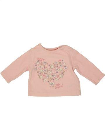 Camiseta de manga larga niña GEORGE rosa 3 meses invierno #1541160_1