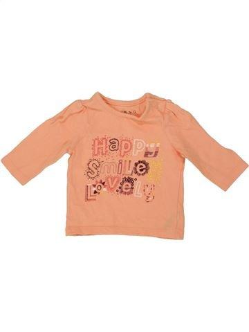 Camiseta de manga larga niña NUTMEG naranja 0 meses invierno #1541175_1