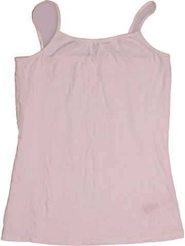 T-shirt sans manches fille F&F rose 14 ans été #1541230_1