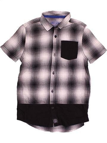 Chemise manches courtes garçon F&F violet 9 ans été #1541285_1