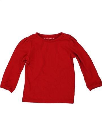 Camiseta de manga larga unisex NUTMEG rojo 12 meses invierno #1541322_1