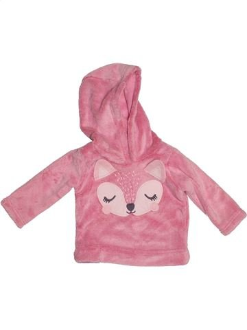 Sweat fille GEORGE rose 9 mois hiver #1541410_1