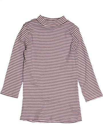 T-shirt manches longues fille F&F rose 10 ans hiver #1541514_1