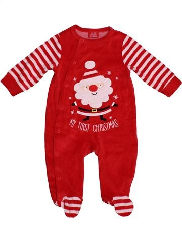 Pijama de 1 pieza niña SANS MARQUE rosa 6 meses invierno #1541704_1