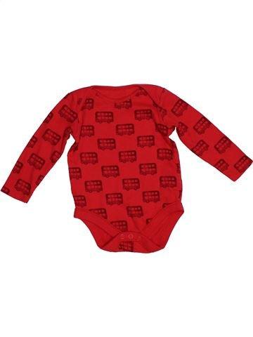 Camiseta de manga larga niño F&F rojo 6 meses invierno #1541938_1