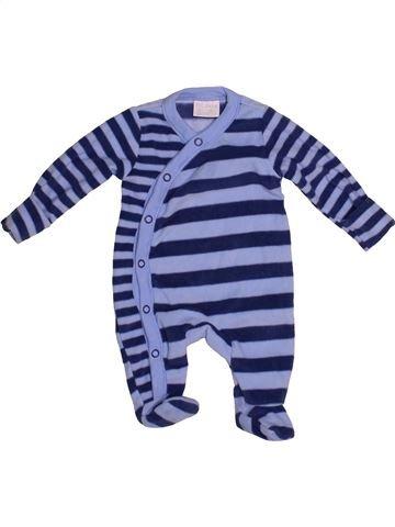 Pijama de 1 pieza niño F&F azul 0 meses invierno #1542019_1