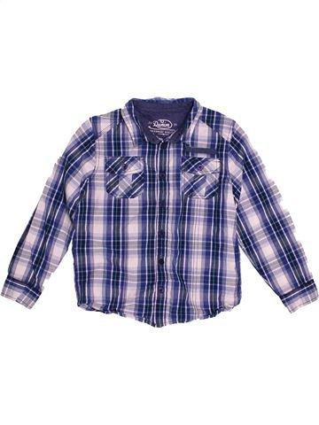 Chemise manches longues garçon F&F violet 7 ans hiver #1542213_1