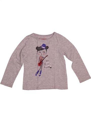 Camiseta de manga larga niña LISA ROSE violeta 4 años invierno #1542560_1