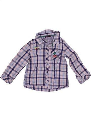 Chemise manches longues garçon SERGENT MAJOR gris 2 ans hiver #1542571_1