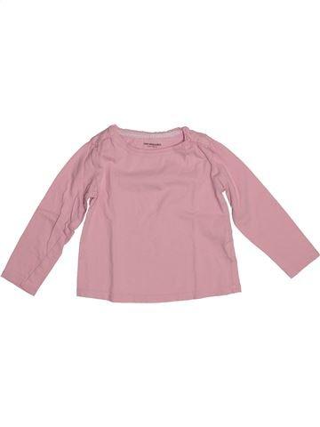 T-shirt manches longues fille VERTBAUDET rose 3 ans hiver #1542615_1