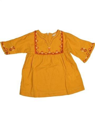 Chemise manches longues garçon VERTBAUDET orange 5 ans hiver #1542760_1