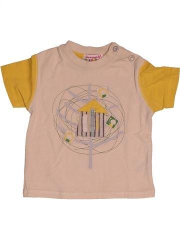 T-shirt manches courtes garçon LA COMPAGNIE DES PETITS beige 12 mois été #1542818_1