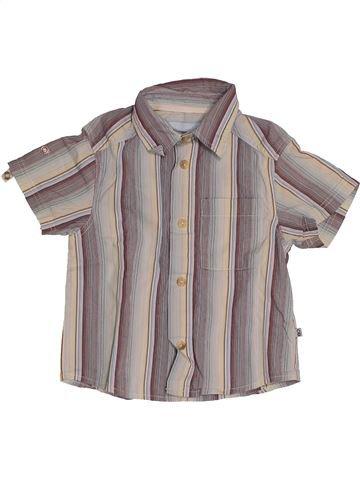 Camisa de manga corta niño OKAIDI gris 12 meses verano #1542829_1