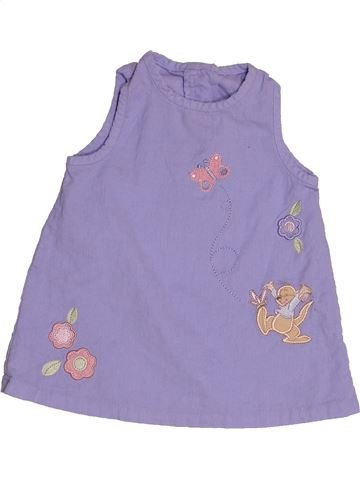 Vestido niña DISNEY violeta 6 meses invierno #1543011_1